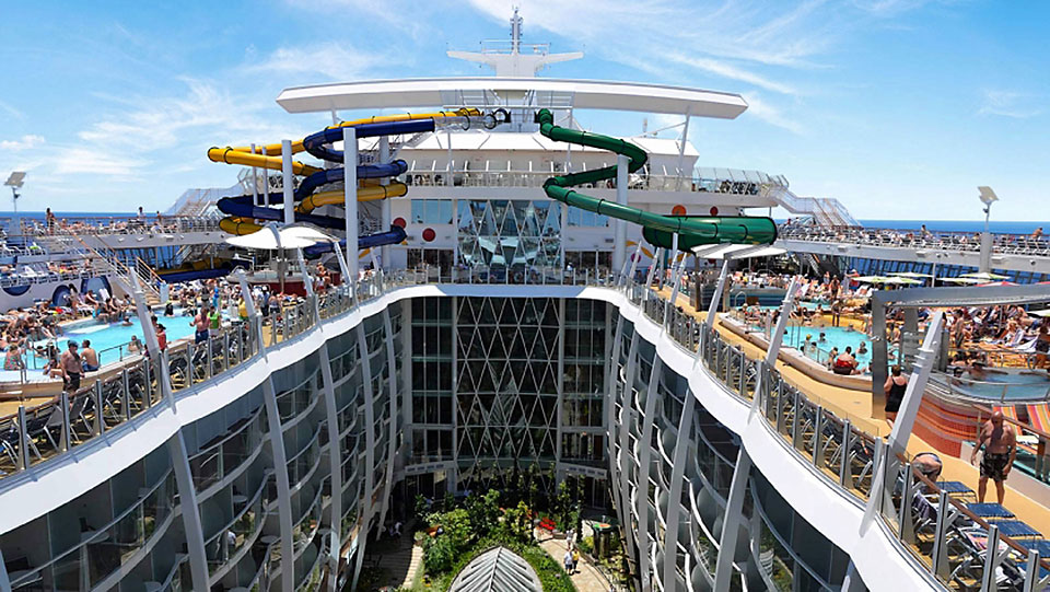 Monipuolinen Harmony of the Seas